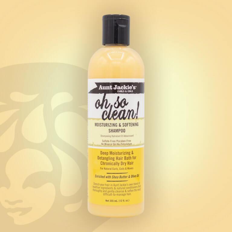 Aunt Jackie's Oh So Clean Moisturising & Softening Shampoo