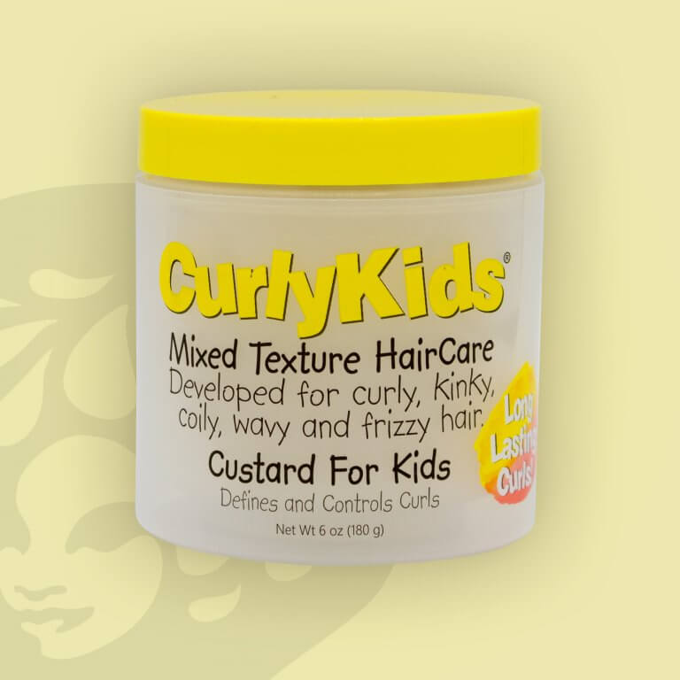 Curly Kids Hair Custard For Kids