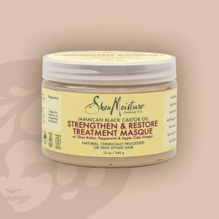 Shea Moisture Jamaican Black Castor Oil Strengthen & Restore Masque