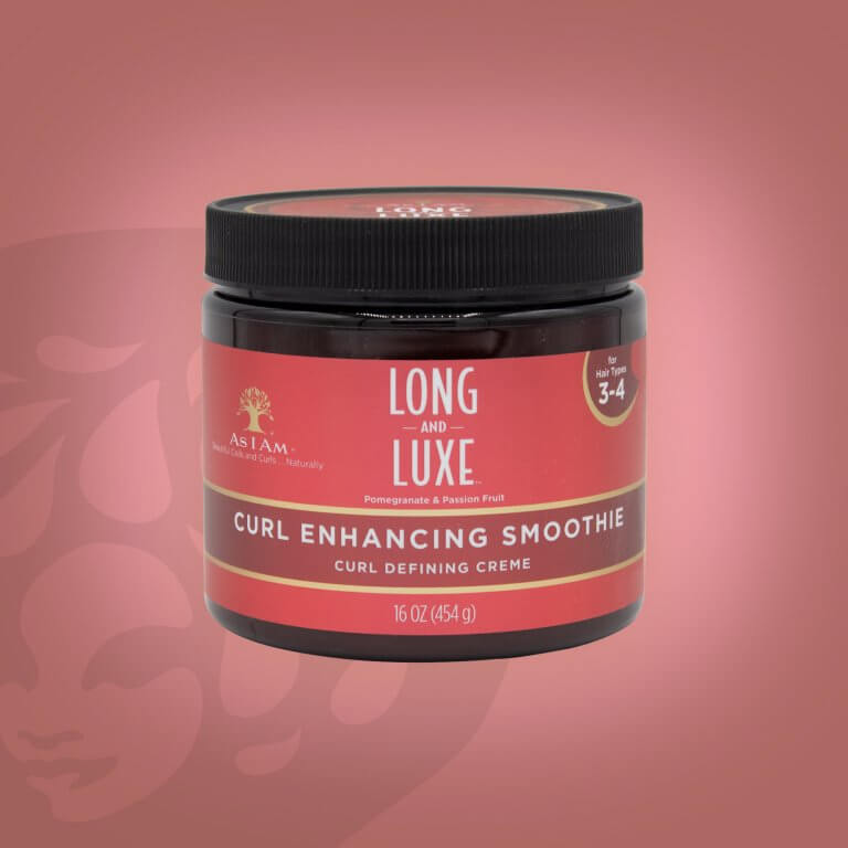 As I Am Long & Luxe Pomegranate & Passion Fruit Curl Enhancing Smoothie